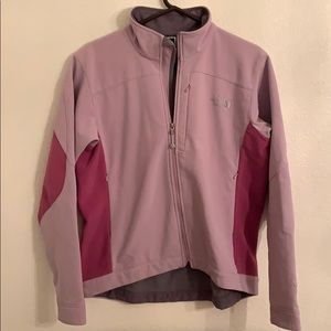 North Face Purple Shell Jacket
